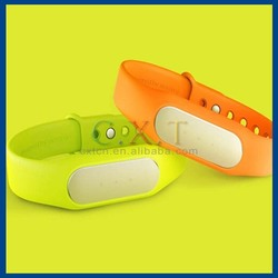In Stock Original colorful silicone strap replacement for Xiaomi Mi Band MiBand Waterproof Wrist Band