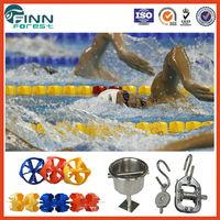 25m 50m Diameter 15cm competition swimming pool anti wave lanes and swimming pool lane rope