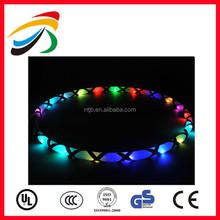 Hot Sale Colorful Flashing LED Hula Hoop Lose Weight Workout Light Led Glow Hula Hoop