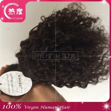10 inch No Synthetic Afro Kinky Hair Extensions