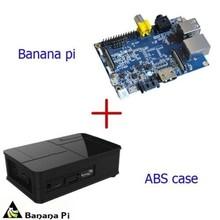 Banana Pi A20 ARM Cortex-A7 Dual-Core + Black ABS Material Case