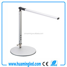 CE RoHS 12V 6W Foldable Aluminium Touch Dimmable Led Desk Lamp Led Reading Lamp Led Table Lamp With Dimmer