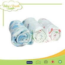 MS190 eco-friendly crochet baby blanket animal pattern, crochet fleece baby blanket