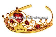 2013 Fashion Fairy Princess Heart Tiara For Birthday Party
