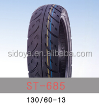 Motorcycle Tires with ISO/CCC/INMETRO/ECE/E-mark/SGS Certificate 130/60-13TL