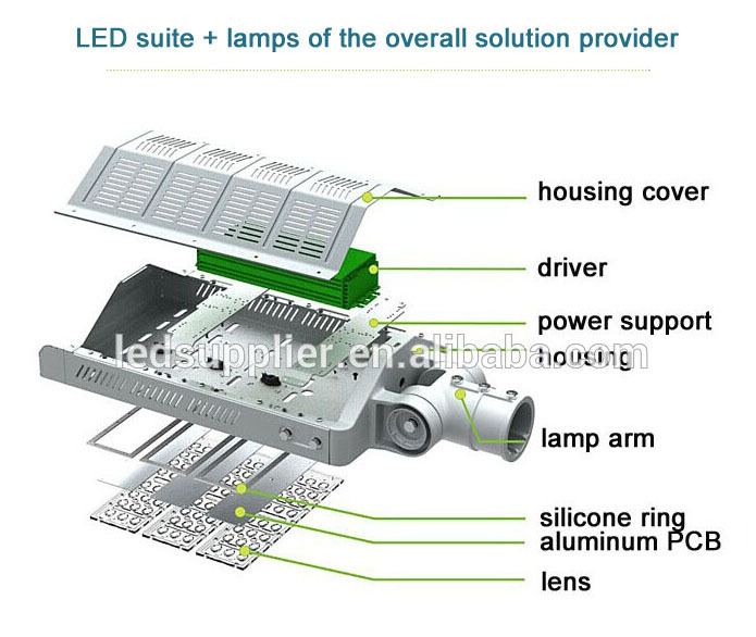 Anern 2015 new production high quality IP67 120W led street light price/led street lamp