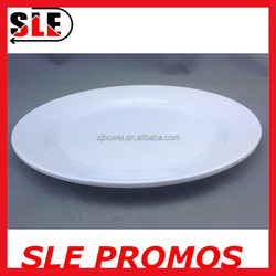 ODM&OEM,disposable high quality round fruit&snack&restaurant&chafing dish plastic 100% melamine flat plate and dishes