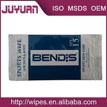 Wholesale Self Tanning Wipes Custom Refreshing Moist Towelettes from Manufacture