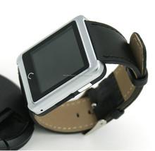 Waterproof Bluetooth Smart Watch U10 UWatch Smartwatch Phone Wristwatch with Handsfree Sync Call Anti lost Pedometer for iPhone