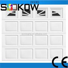 automatic garage door window insert/sectional garage door with window/sectional door with window