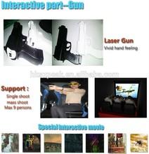 Alta calidad de la nueva interactivo 7d armas con de cine para la venta