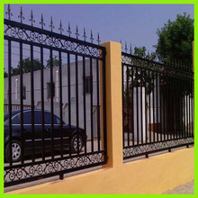 2015 new desigh cheap wrought Iron fence, metal fence, steel fence