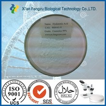 Massa e acido ialuronico 99% ingrosso, acido ialuronico in polvere, iniezione di acido ialuronico in polvere
