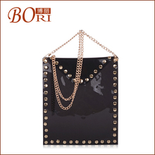 2012 top selling designer quality leather transparent candy jelly handbags