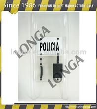 nuevo estilo escudo antidisturbios y de alto impacto de la policía antidisturbios escudos utilizados en la policía y militares