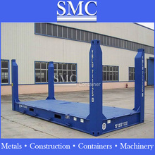 Flat Rack/Platform Containers, (with fixed-end) , 20ft & 40ft