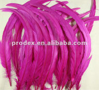 hot pink rooster tail feather long saddle hackle feathers