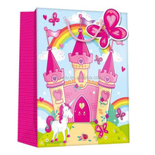 Fairytale style Gift Bag , gloss finish gift bag , nice desigh gift bag