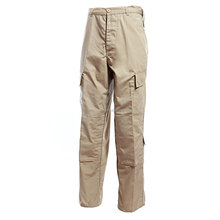 65%polyester 35%cotton military khaki cargo trousers