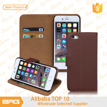 BRG New Arrival Colourful New Luxury Flip PU Leather Case Cover for Apple iPhone6