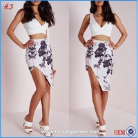 Floral sexy wrap fancy skirt top designs and pictures fashionable pictures of sexy girls wearing short skirts