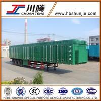 Heavy duty van trailer