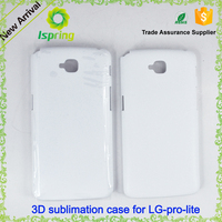 3D sublimation case for lg g pro lite g2 g3 stylus