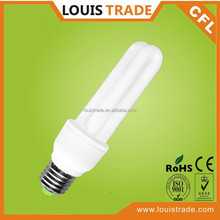 ROHS CFL 2U 15w fluorescent tube lights