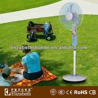 """16"""" solar ac/dc power stand fan/electric solar power outdoor fan RF-1604"""