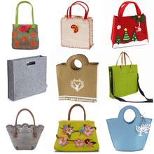 Cute fashion Designer felt tote bag/Wool Felt Bag