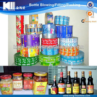 adhesive labels sticking machine