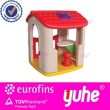Home garden children plastic playing house
