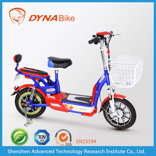 DYNABike new arrival light weight adult electric motorcycle/electric motor bike 48v 350w