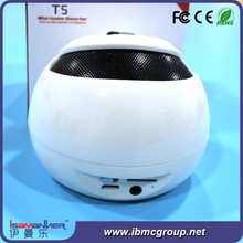 Unique design wireless bluetooth 16ohm 0.25w mylar speaker