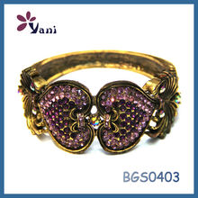 Hot new style high quality crystal alloy jewellery bijouterie