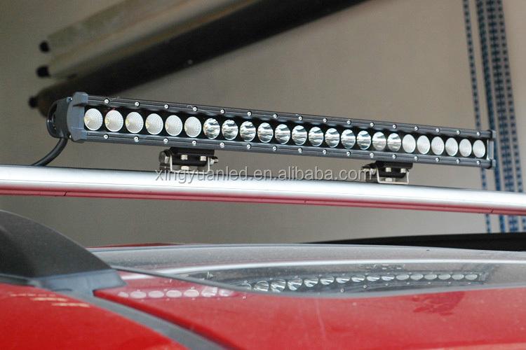 CREE 120w offroad света бар, света бар светодиодные балки однорядные рабочий свет