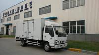 cheaper 3.5 tons van cargo truck/mini box van truck/small box trucks for Africa