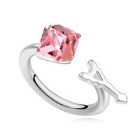 15802 24 carat diamond brass finger ring