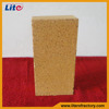 Fire brick low porosity clay brick made in china
