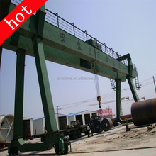 50 ton Practical and high Quality Double Beam Gantry Crane Straddle Carrier price