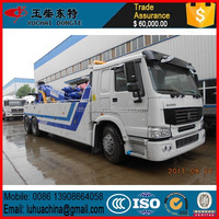 Sinotruck HOWO 336hp wrecker truck 20ton wrecker HOWO recovery vehicle