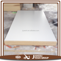 white laminated melamine mdf board for construction