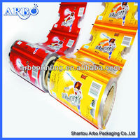 Laminated Plastic printed packaging film for food packaging