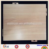 interior wood paneling 4x8, fireproof metal cladding wall panel