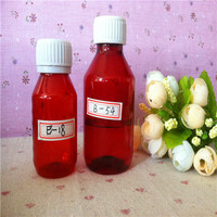 2015 New Free Sample 60ML/120ML PET plastic Bottle pharmacy packaging container From China JEAO