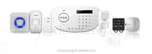 APP control wireless advanced GSM alarm with PSTN auto dialer dual network home security system