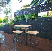 Exterior Fence decorative lattice privacy panels Garden Partition Panels