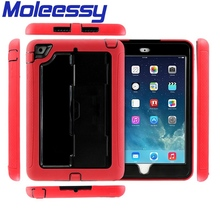 Cool style hard protective stand robot case for ipad mini