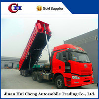 Widely used tipper trailer/UK used tipper trucks