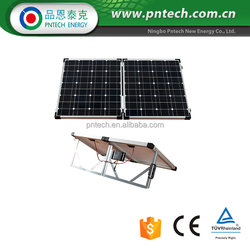 Monocrystalline 100W folding solar panel